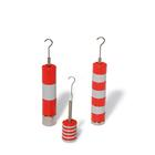 Set of Slotted Weights, 10 x 10 g, Red and Grey, 1000773 [U8404760], 저울추