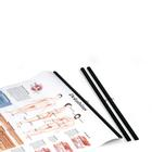 Rods for charts, black, pair, 50 cm, 1002372 [VR999B], 차트 부속품