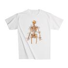 Anatomical T-Shirt Skeleton, XL, 1005503 [W41011], 해부학 티셔츠