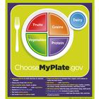 MyPlate Poster with Key Phrases,W44791P